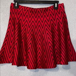 Candies Black and Red Skirt